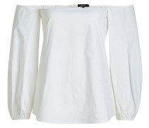 Off-Shoulder-Bluse aus Baumwolle