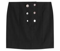 Mini-Skirt aus Baumwolle mit Knopfleiste