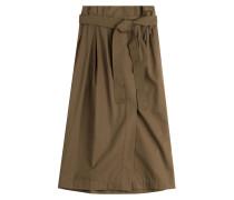Midi-Skirt aus Baumwolle