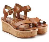 Plateau-Sandalen Tina aus Leder