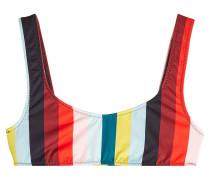 Gestreiftes Bikini-Top The Elle