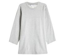 Sweatshirt aus Baumwolle mit Label-Schriftzug