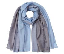 Schal aus Baumwolle, Kaschmir und Seide