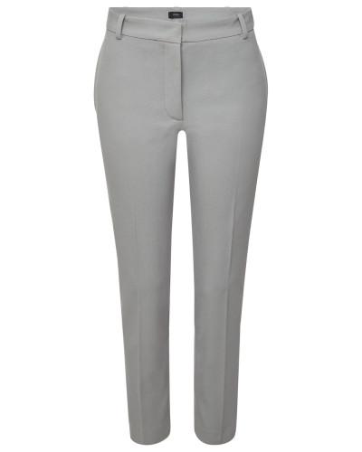 Skinny Pants Zoom aus Baumwollgabardine