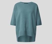 Pullover im Vokuhila-Stil