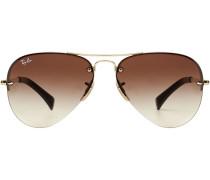 Sonnenbrille Aviator Rimless