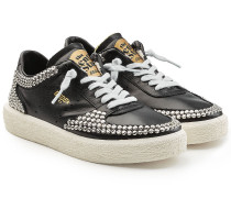 Sneakers Tenthstar aus Leder mit Nieten