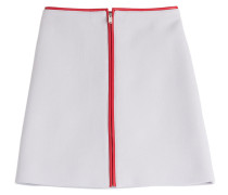 Flared-Skirt aus Wolle
