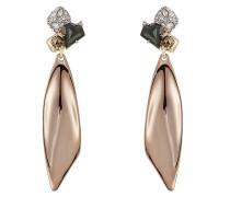 Ohrringe aus 10kt Gold mit Kristallen