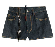 Denim-Shorts aus Baumwolle