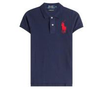 Polo-Shirt aus Baumwolle mit Oversize-Logo