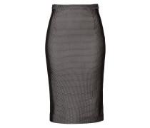Pencil-Skirt aus Mesh