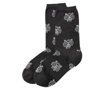 Socken mit Tiger-Print