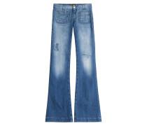 Flared Jeans Penelope aus Baumwolle