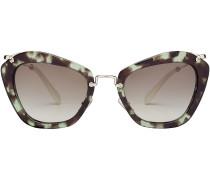 Sonnenbrille mit Schildpattmuster