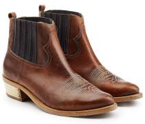 Cowboy-Boots Brielle aus Leder