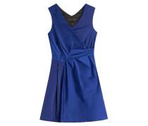 Drapiertes Flared-Dress
