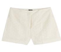 Bestickte Tüll-Shorts