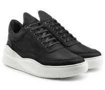 Low Top Sneakers aus Leder