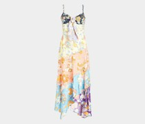Slip Dress mit Volants