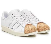Leder-Sneakers Superstar Cork