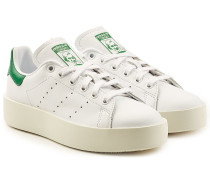Plateau-Sneakers Stan Smith aus Leder