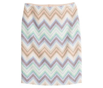 Pencil Skirt mit Zick-Zack-Muster