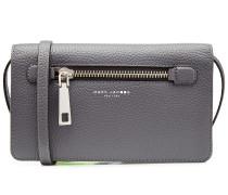 Portemonnaie mit Schulterriemen aus Leder
