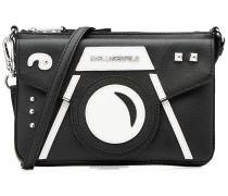 Mini-Schultertasche Camera