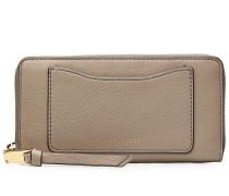 Portemonnaie Standard Continental aus strukturiertem Leder