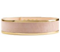 Taillengürtel aus Veloursleder mit Metall
