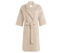Mantel Asana mit Wolle und Alpaka