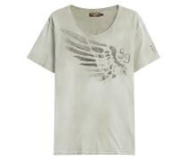 Print-Shirt Wing aus Baumwolle