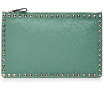 Leder-Clutch Rockstud Large