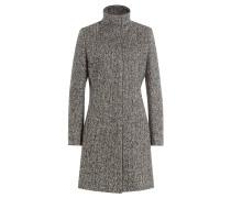 Tweedmantel mit Wolle
