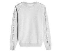 Sweatshirt aus Baumwolle mit Schnürung