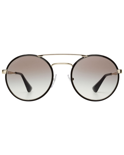 prada damen sonnenbrille mit runden gl sern reduziert. Black Bedroom Furniture Sets. Home Design Ideas