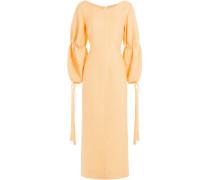 Midi-Dress aus Woll-Jersey