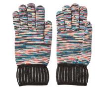 Gemusterte Handschuhe aus Wolle