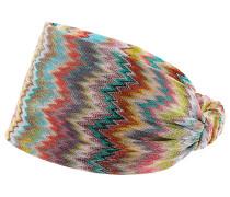 Gemustertes Haarband aus Häkelstrick