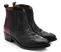 Two-Tone Cowboy Boots Amanda aus Leder