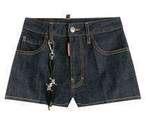 Denim-Shorts aus Baumwolle