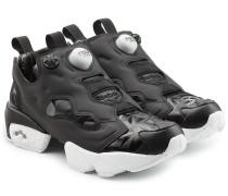 Plateau-Sneakers InstaPump Fury aus Leder