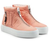 Textil-Sneakers mit Zipper
