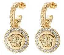 Ohrringe aus Metall mit Ziersteinen