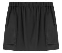 Mini-Skirt aus Satin