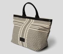 Shopper mit Kufiya-Muster
