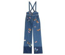 Denim-Overall Long Butterfly