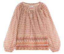 Print-Tunika aus Baumwolle