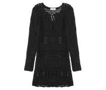 Lochstrick-Kleid aus Baumwolle